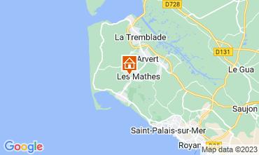 Mappa La Palmyre Casa mobile 102704