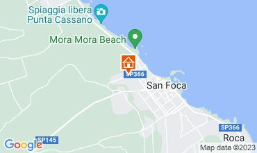 Mappa San Foca Appartamento 108902