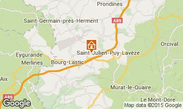 Mappa La Bourboule Casa 11843