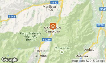 Mappa Madonna di Campiglio Appartamento 67442