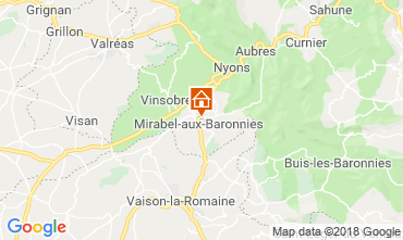 Mappa Nyons Villa  117379