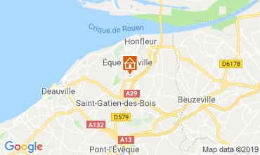 Mappa Honfleur Agriturismo 120199