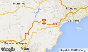 Mappa Les Adrets-de-l'Estérel Agriturismo 73472