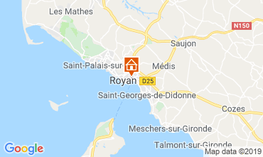 Mappa Royan Appartamento 117597