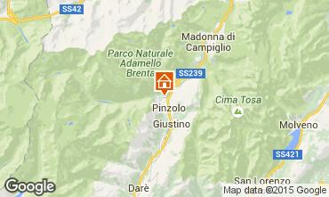 Mappa Pinzolo Appartamento 67621