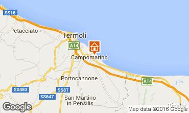Mappa Campomarino Appartamento 81386