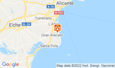 Mappa Santa Pola Appartamento 82118