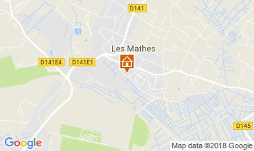 Mappa Les Mathes Casa 82651