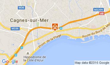 Mappa Cagnes sur Mer Appartamento 104262