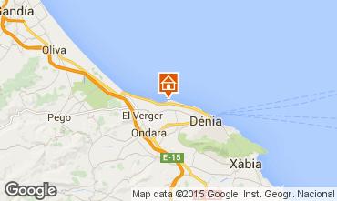 Mappa Dénia Appartamento 55579