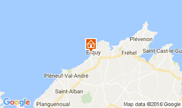 Mappa Erquy Casa 107191