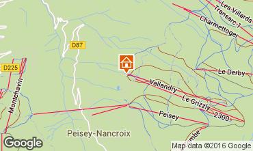 Mappa Peisey-Vallandry Monolocale 4747