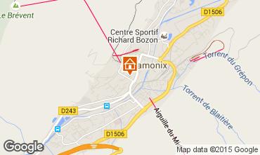 Mappa Chamonix Mont-Blanc (Monte Bianco) Appartamento 70575