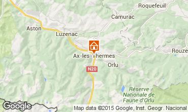 Mappa Ax Les Thermes Appartamento 93039