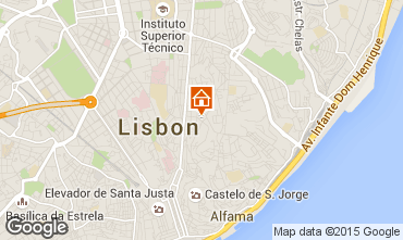 Mappa Lisbona Appartamento 55241