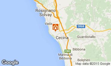 Mappa Cecina Appartamento 33239