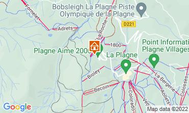 Mappa La Plagne Monolocale 111258