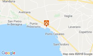Mappa Porto Cesareo Appartamento 115036