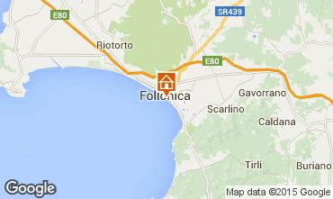Mappa Follonica Appartamento 80760
