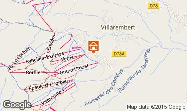 Mappa Le Corbier Appartamento 999