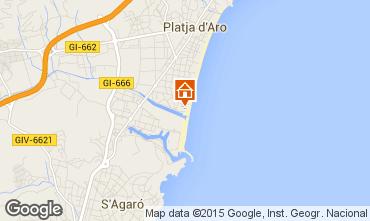 Mappa Playa d'Aro Monolocale 93350