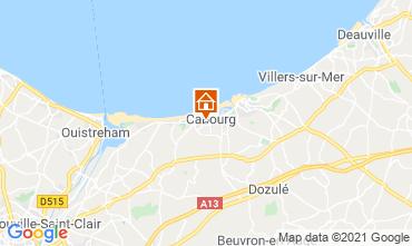 Mappa Cabourg Appartamento 113080