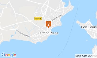 Mappa Larmor Plage Appartamento 112341
