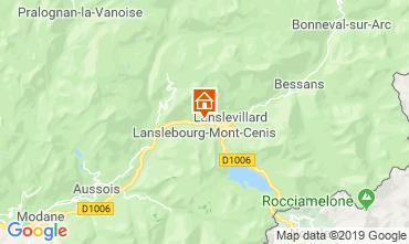 Mappa Lanslebourg-Mont-Cenis Appartamento 117103