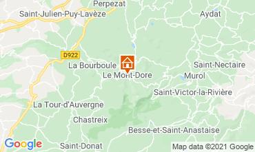 Mappa Le Mont Dore Appartamento 77814