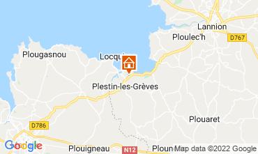 Mappa Plestin les Grèves Casa 14528