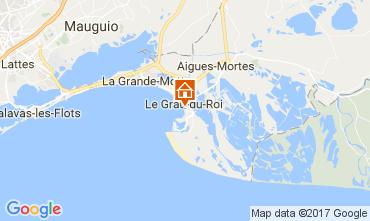 Mappa Le Grau du Roi Appartamento 108260