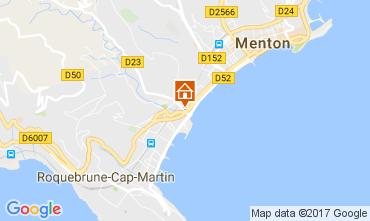 Mappa Roquebrune Cap Martin Appartamento 107713