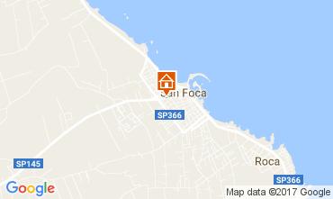 Mappa San Foca Appartamento 103288