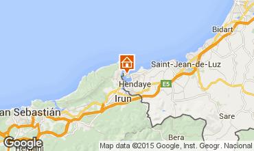 Mappa Hendaye Appartamento 57433