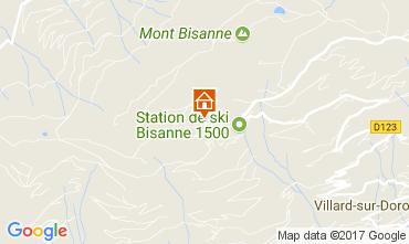 Mappa Les Saisies Appartamento 111751