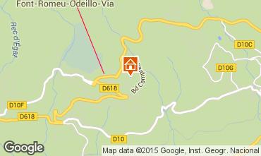 Mappa Font Romeu Appartamento 4157