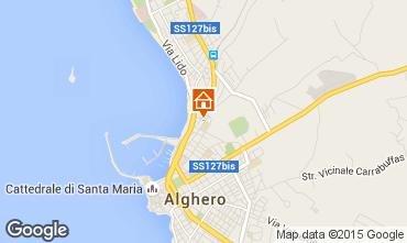 Mappa Alghero Appartamento 84156