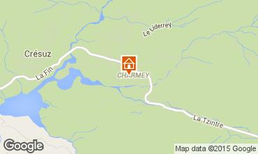Mappa Charmey Chalet 72762