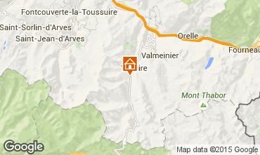 Mappa Valloire Chalet 93732