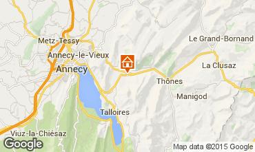Mappa Annecy Chalet 845