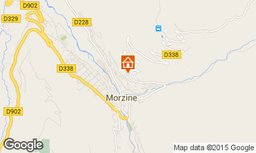 Mappa Morzine Chalet 58010