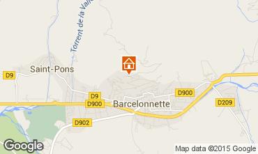 Mappa Barcelonnette Appartamento 4855