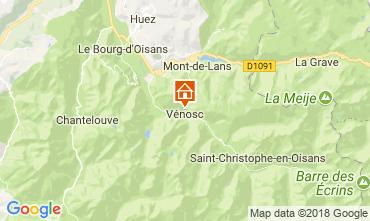 Mappa Les 2 Alpes Appartamento 59663