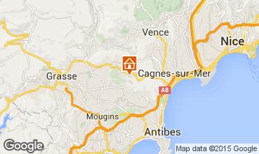 Mappa Roquefort-les-Pins Agriturismo 83734