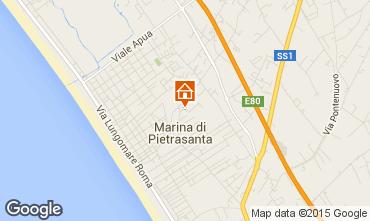 Mappa Marina di Pietrasanta Appartamento 93680