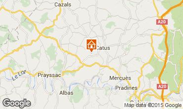 Mappa Cahors Casa 92444