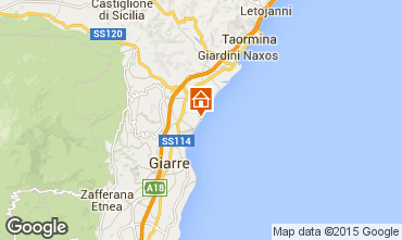 Mappa Fiumefreddo di Sicilia Appartamento 81186