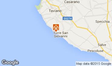 Mappa Ugento - Torre San Giovanni Villa  97462
