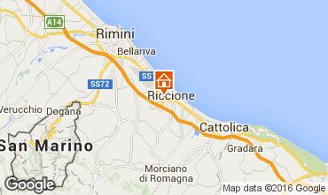 Mappa Riccione Appartamento 40072