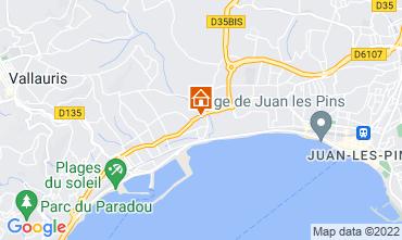 Mappa Juan les Pins Monolocale 47153